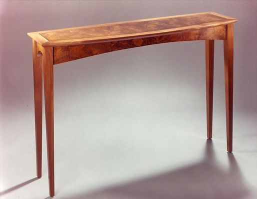 Bow Front Table