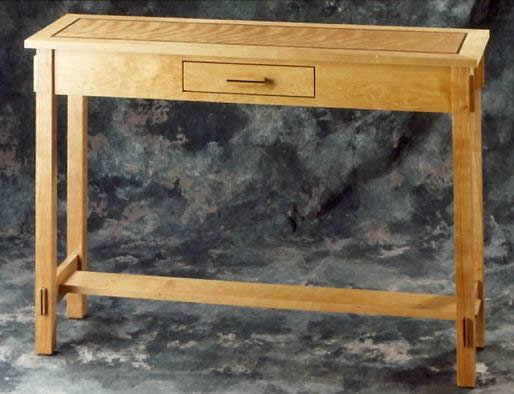Sofa Table With Drawer